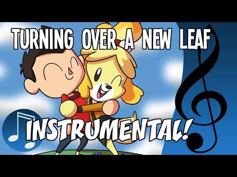 Turning Over a New Leaf - Instrumental by MandoPony | Animal Crossing