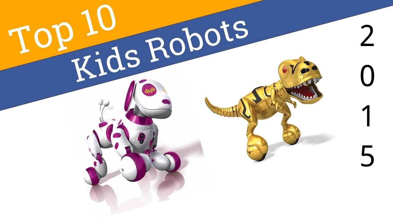 10 Best Robots For Kids 2015