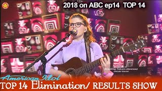 "Catie Turner sings ""Havana"" Victory Song Top 10 American Idol 2018 Top 14 Results Show"