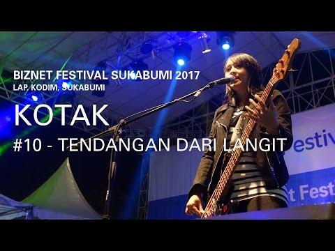Biznet Festival Sukabumi 2017 : Kotak - Tendangan Dari Langit