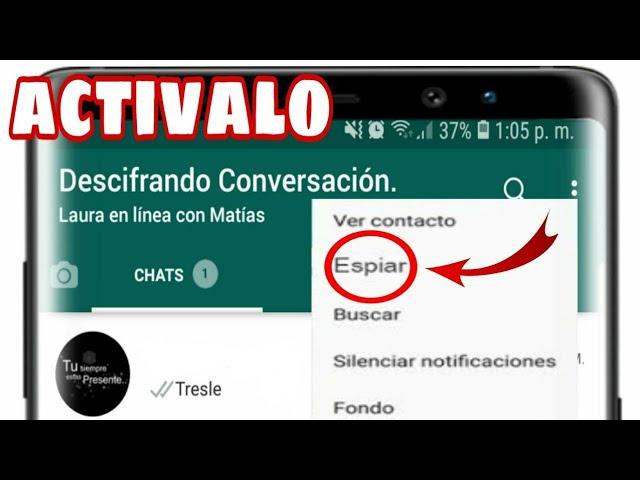Al Fin Como Saber Con Quién Habla Tu Pareja En Whatsapp Truco 2019 Youtube
