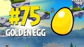 Angry Birds Seasons Summer Camp Golden Egg #75 Walkthrough