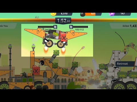 Super Tank Rumble Flying Mortar Tank Drone level 18 build