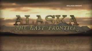 Drieluik over het koudste en goudste gebied van Noord-Amerika | Alaska Night