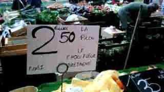 marché provençal du cours LAFAYETTE à TOULON - VAR - FRANCE -RIVIERA