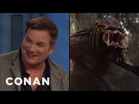Shane Black On The Predator's New R-Rated Look  - CONAN on TBS Mp3
