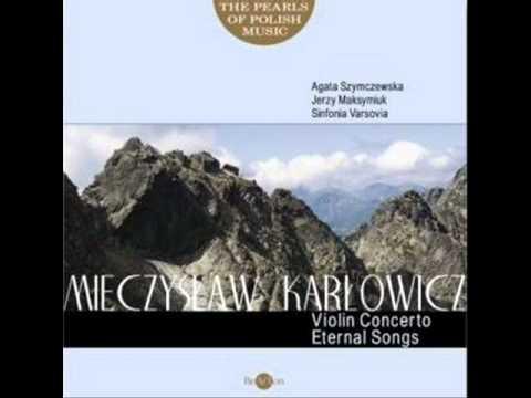 Agata Szymczewska - Karlowicz Violin Concerto in A major [1/4]
