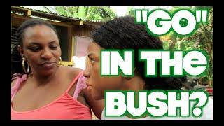 """JAMAICA VLOG #69 """"GO"""" IN THE BUSH?"""