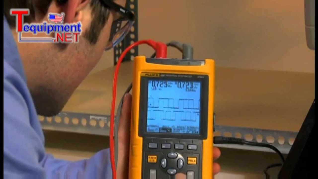 fluke demonstrates diagnosing a rotary coder with a multimeter and a rh youtube com fluke 975 manual fluke ti95 manual