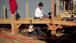 Ramp construction 11/30/10 (Vlog #1)