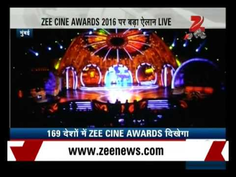 Zee Cine Awards to be broadcast in 169 countries