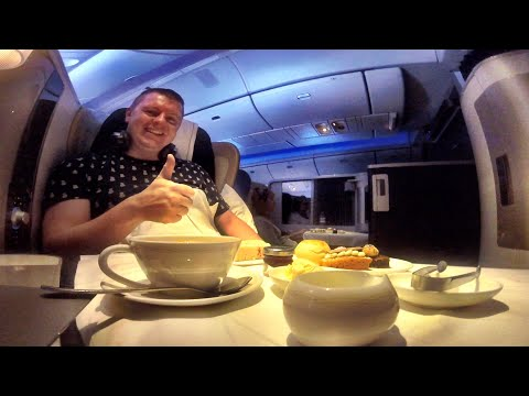 British Airways First Class Flight Experience: London to Houston!