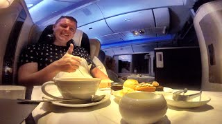 British Airways First Class Flight Experience: London to Houston! thumbnail