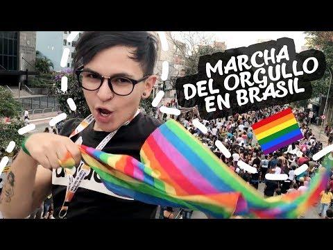 CHILENAS EN MARCHA DEL ORGULLO LGBTQ+ BRASIL SAO PAULO ♥