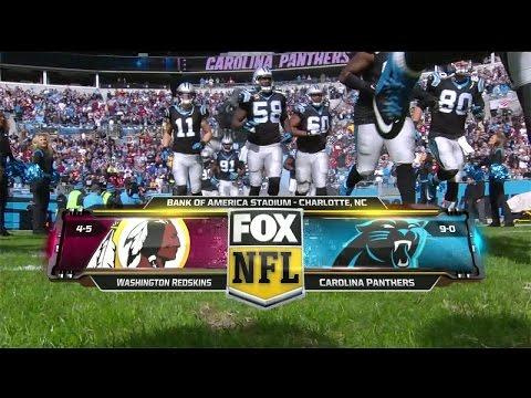 NFL on FOX - 2015 Week 11 Redskins vs Panthers - Open