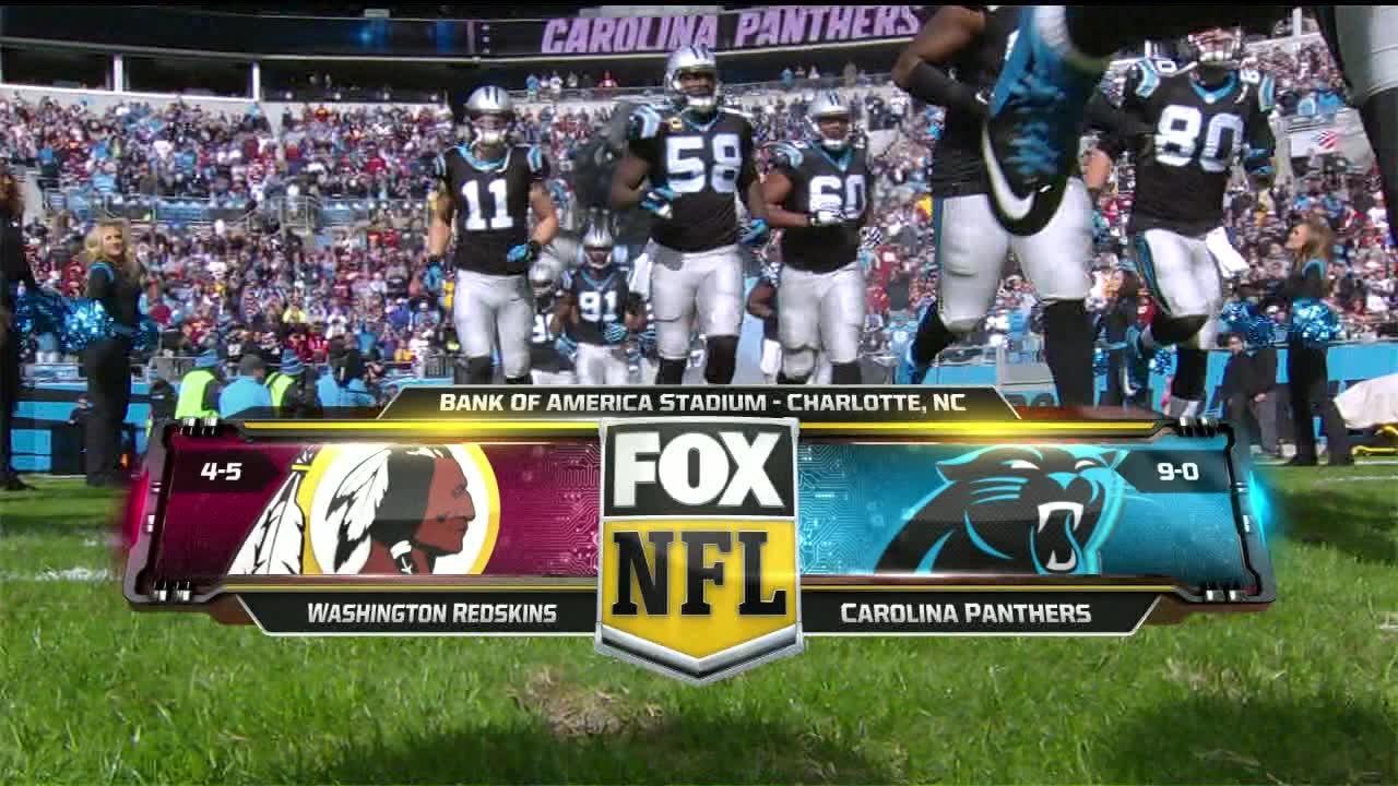 de8150cd NFL on FOX - 2015 Week 11 Redskins vs Panthers - Open