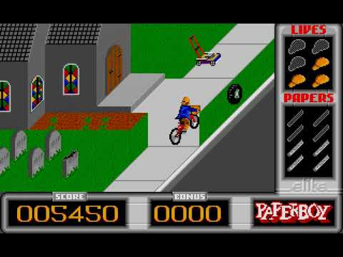 Paperboy - Atari ST - Easy Street