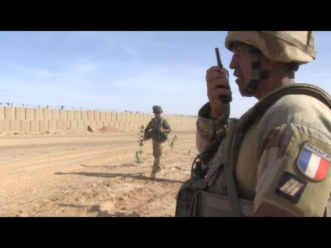 Video: Embedded with French troops in eastern Mali
