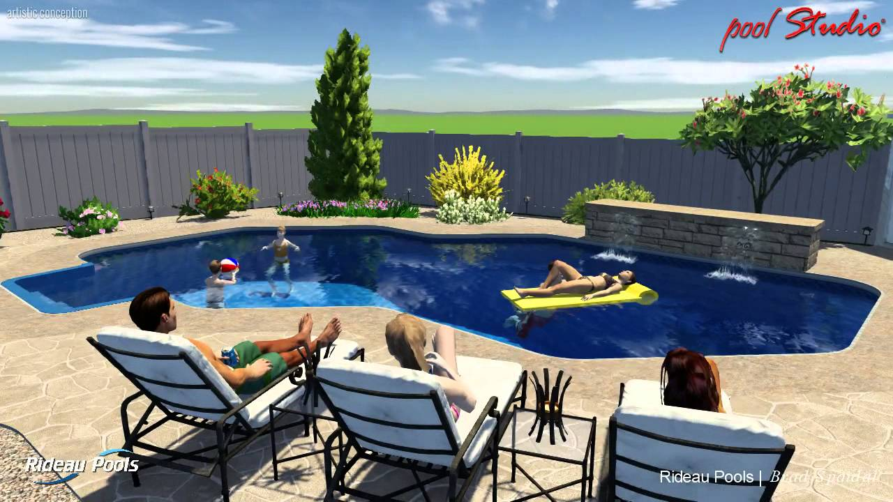Custom Design Pools marinas edge 16 X 32 Custom Design Pool By Rideau Pools Ottawa