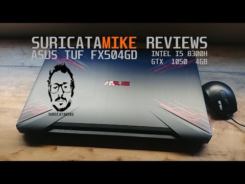 Laptop Gamer ASUS TUF FX504 ¿La mejor laptop gamer barata? I5 8300h + GTX 1050 4gb