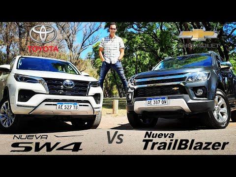 Toyota SW4 2021 Vs Chevrolet Trailblazer 2021 - Prueba - Jose Luis Denari