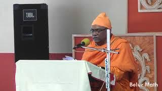 Reading from Sri Sri Ramakrishna Lilaprasanga on Devotees Convention 2018 (Day 1)