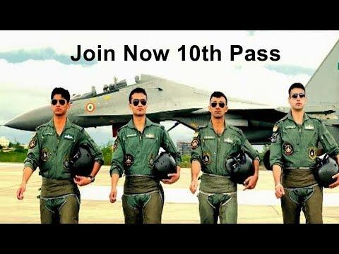 10th Pass Indian Air Force Job 2019 20 Join Indian Air Force Latest Defence Naukri Samajayakya