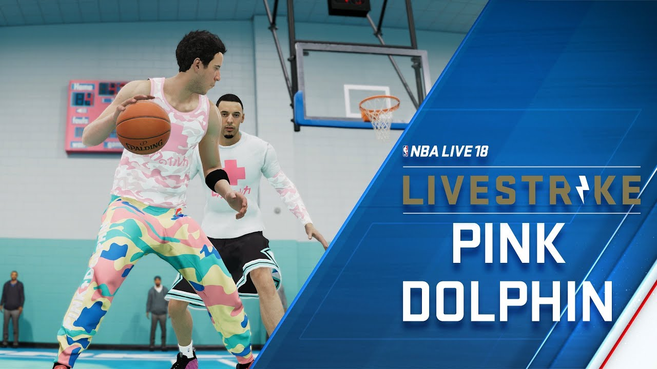 NBA LIVE - LIVESTRIKE - Earn Fly Gear from Pink Dolphin