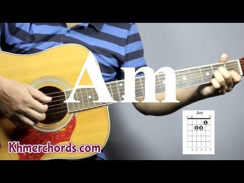 guitar chords - open am -  am - khmerchords