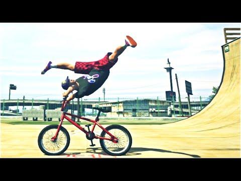 GTA 5 - BMX FREESTYLE 2 (GTA V BMX Stunts Montage)