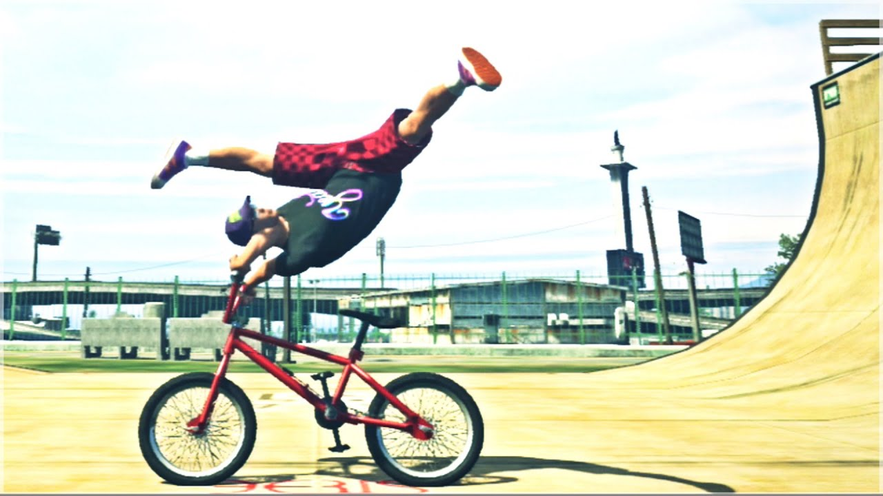 freestyle bmx stunts