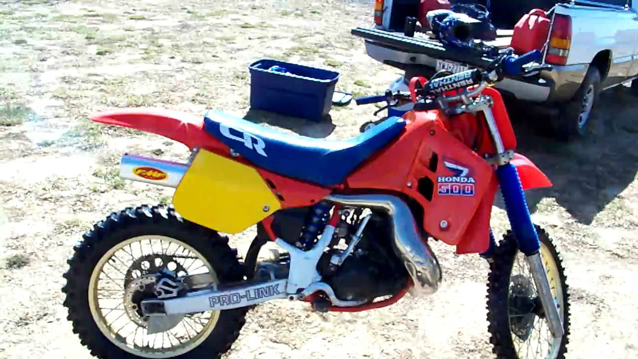 restored 1987 honda cr500 cr 500 kx500 kx 500 youtube. Black Bedroom Furniture Sets. Home Design Ideas
