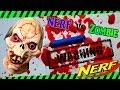 NERF TARGET (DIY) Nerf Zombie Target - Reactive Target