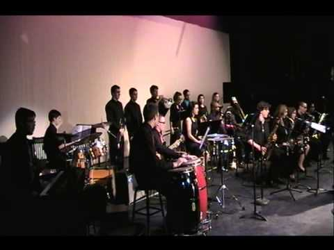 "Schenectady High School Jazz Ensemble ""A Night in Tunisia"""