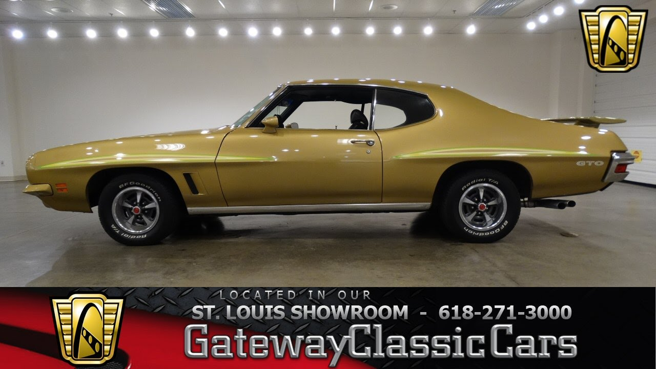 Pontiac Gto Gateway Classic Cars Of St Louis Youtube