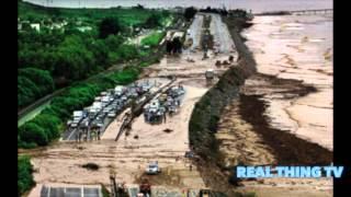 Mudslide buries I 5 north of Los Angeles in 5 feet of mud