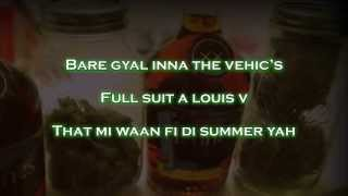 Mavado  Weed & Hennessy (lyrics on screen)