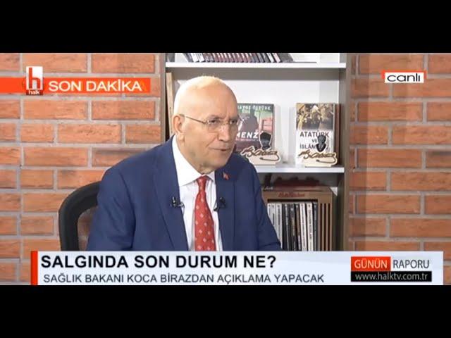 Halk TV 'Fatih Ertürk ile Günün Raporu' programı (17.04.2020)