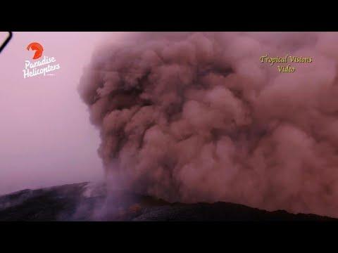 Hawaï: le volcan Kilauea entre en éruption