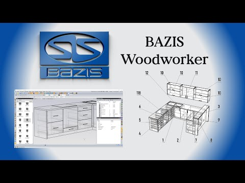 Specjalistyczny CAD/CAM do projektowania i produkcji mebli Bazis
