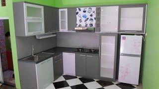 Video Furniture Dapur Kaca Aluminium Kayu HPL | Kitchen Set Semarang | 081390840100 download MP3, 3GP, MP4, WEBM, AVI, FLV Agustus 2018
