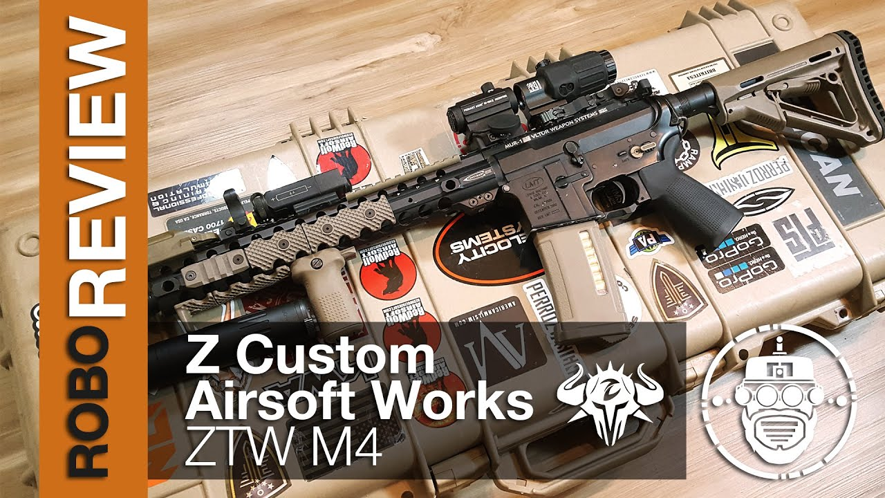 Z custom airsoft works ztw m4