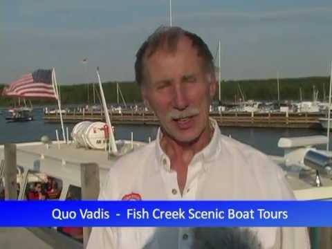 Fish Creek Scenic Boat Tours - Door County Wisconsin