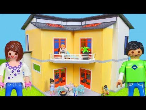 Playmobil Film Deutsch: Neues Puppenhaus Für Playmobil Puppen | Kinderfilm / Kinderserie