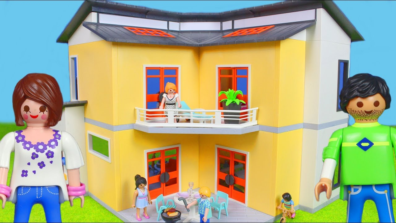 playmobil film deutsch neues puppenhaus f r playmobil puppen kinderfilm kinderserie youtube. Black Bedroom Furniture Sets. Home Design Ideas