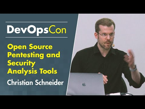Open Source Pentesting And Security Analysis Tools: The DevOps Way… #slideless