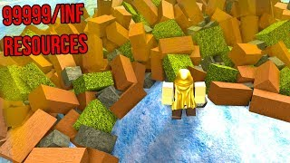 GETTING UNLIMITED RESOURCES *RARE!!* (Roblox Booga Booga)