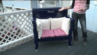 Build A Bench Out Of An Old Headboard! - Make It Fabulous - Episode 3