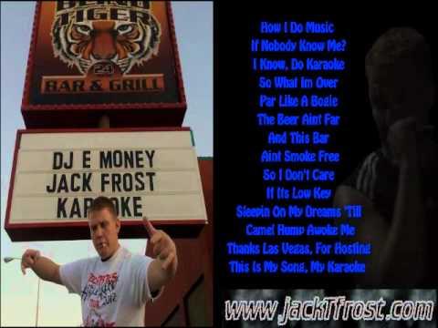 Jack T. Frost - Karaoke (Lyrics On Screen)