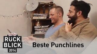 Die besten Punchlines 2014